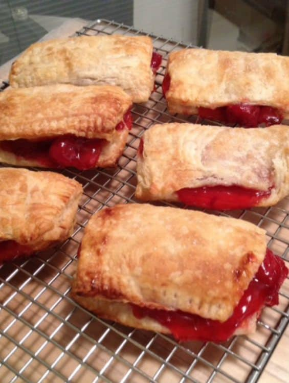 Freshly Baked Cherry Hand Pies