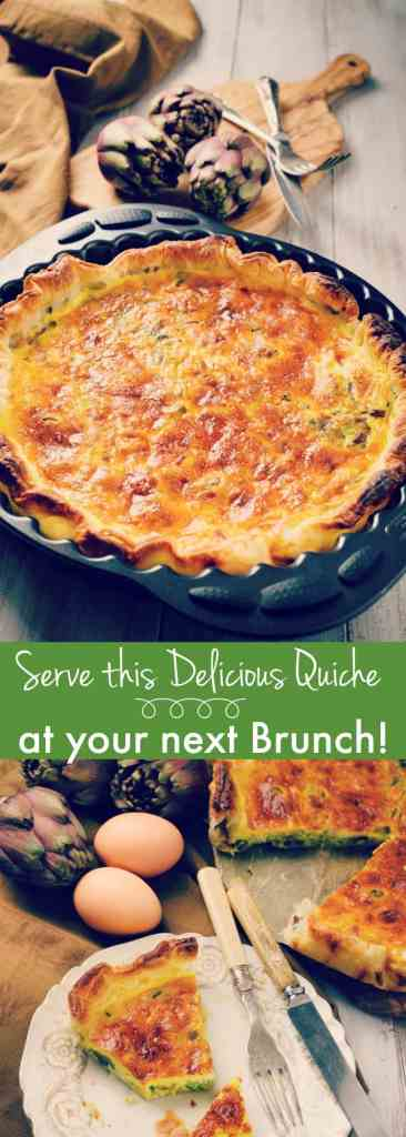 Serve Quiche to your friends at the next Brunch! Brunches are so popular these days, with friends meeting at a number of popular spots around town. An easy recipe with the option of a traditional quiche lorraine or add in spinach!