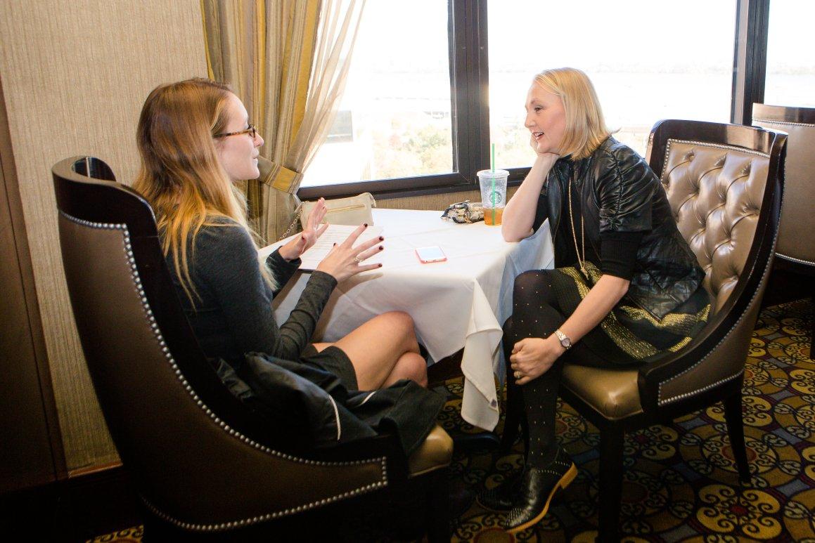 Bridal Fashion Designer, Heidi Elnora, Visit to Washington DC