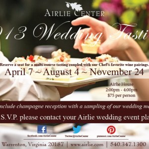 Upcoming Events – 2013 Wedding Tasting and Bridal Focus Panel