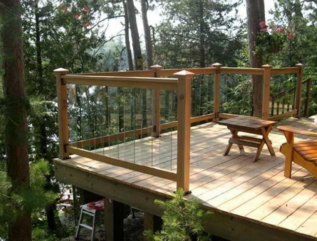 Deck Railing Ideas Budget