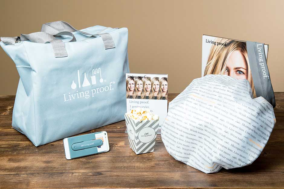 dry shampoo haircare promotional product designs