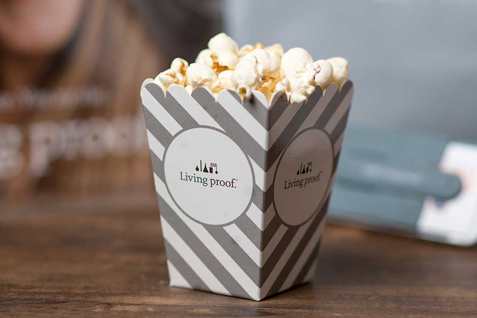 food premium marketing popcorn