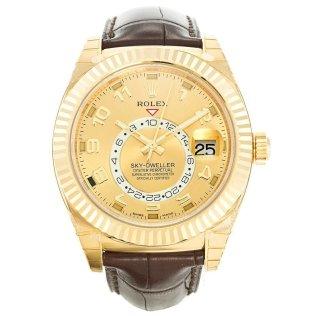 Rolex Sky-Dweller Gold 326138 Blog replica watches