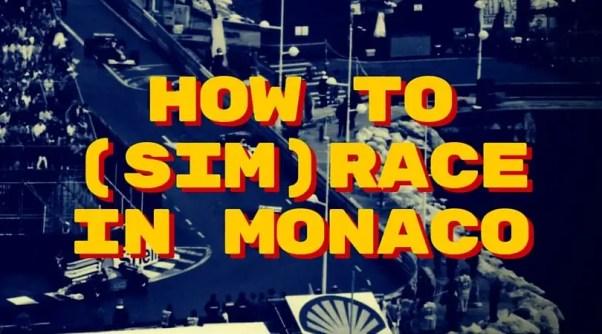 HowToSimraceInMonaco