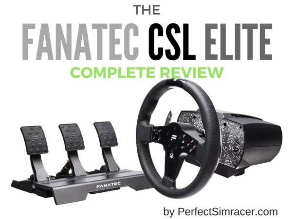 Fanatec CSL Elite Review (XboxOne, PC) - PerfectSimracer com