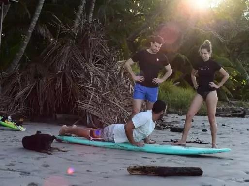 Surf Classes In costa Rica