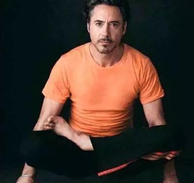 Robert Downey Jr yoga