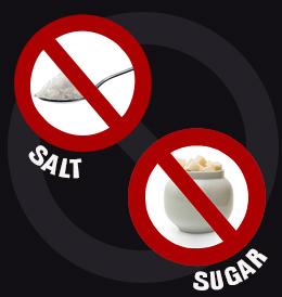 Image result for no sugar no salt