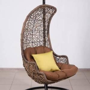 Заказать подвесное кресло из искусственного ротанга
