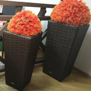 Плетеные горшки Крым