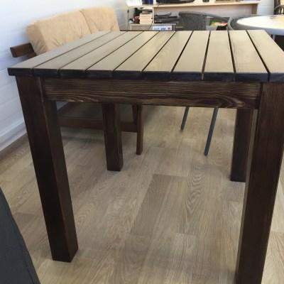 Деревянный стол для улицы Севастополь