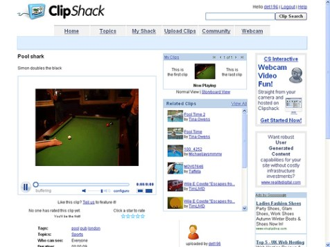 clipShack videos