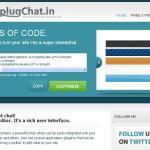 Plugchat: Crear chat en tu sitio web