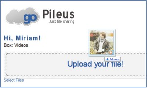 GoPileus, alojar archivos para compartir