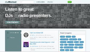 MixCloud - toda la música de DJ's en un sitio