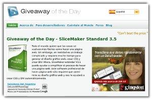 Give Away of the Day - consigue software comercial con licencia gratuita
