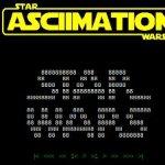 Star ASCIIMATION Wars – la película Star Wars con caracteres ASCII