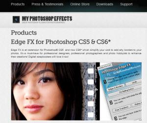 myphotoshopeffects - decenas de plugins gratuitos para Photoshop