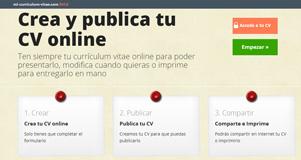 Mi Curriculum Vitae - crea y comparte tu currículum vitae
