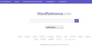 Wordreference - la herramienta indispensable para bilingües