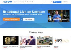 Ustream - streaming en vivo de películas, música y juegos