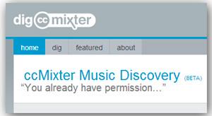 Música para escuchar y descargar legalmente en dig.ccmixter