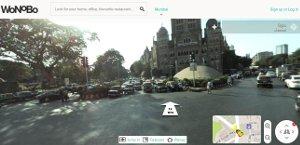 Wonobo una alternativa de Google Street View