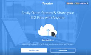 FireDrive ofrece 50 GB en espacio de almacenamiento online gratuito
