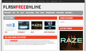FlashFreeOnline, cientos de miles de juegos flash online gratuitos nuevos y retros