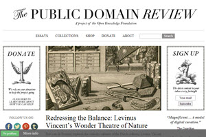 The Public Domain Review, proyecto abierto para recopilar material audiovisual