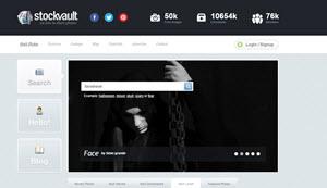 StockVault, un banco de imágenes con miles de fotos gratuitas