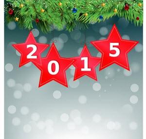 vectores anio nuevo 2015