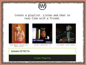 Milkshake - crear listas de reproducción música online y compartirlas
