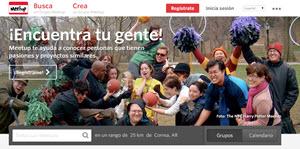 Meetup - conocer personas que comparten pasiones y proyectos similares