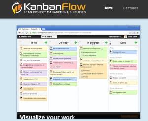 KanbanFlow - admistrador de proyectos online gratis
