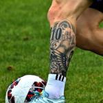 Mira el nuevo tatuaje de Messi