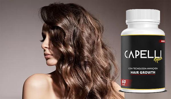 Capelli Hair: remédio para queda de cabelo feminino