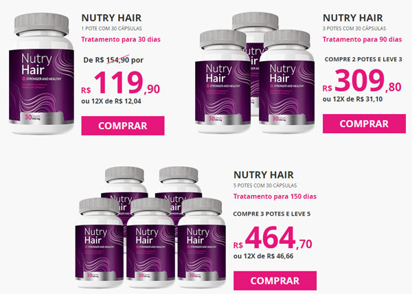 Como comprar Nutry Hair