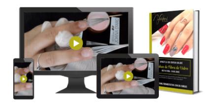Curso de unhas de fibra de vidro
