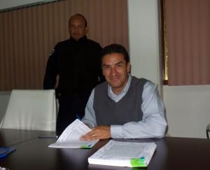 1.-Firma Convenio