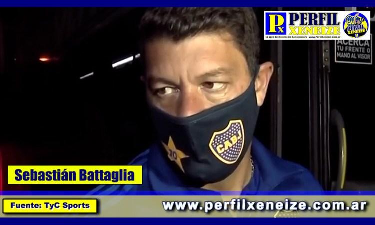 """Sebastián Battaglia: """"Fuimos justos ganadores"""""""