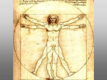 Man by Leonardo da Vinci