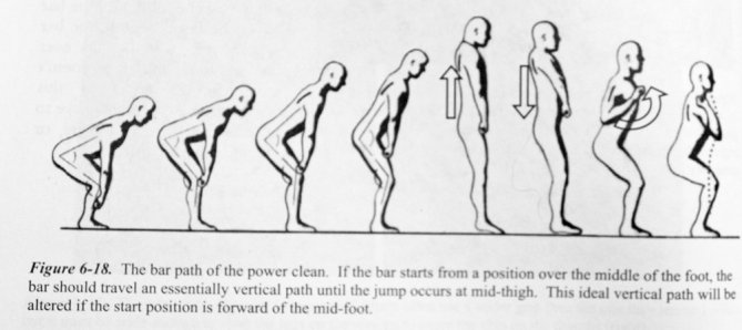 Power-clean-bar-path