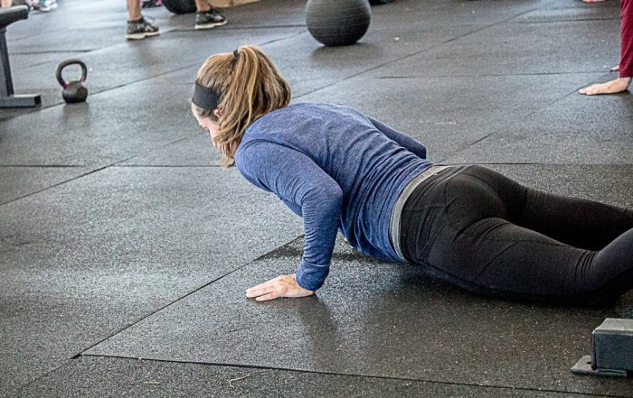 Why Your Back Hurts from Burpees