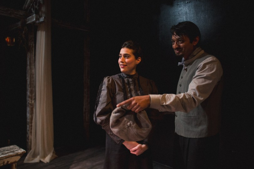 Laura Lapidus and Kaiser Ahmed. Photo by Joe Mazza at Brave Lux