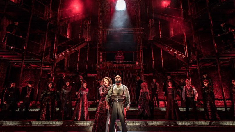 """God, That's Good!"" SWEENEY TODD at Paramount is Theatrical Bliss"