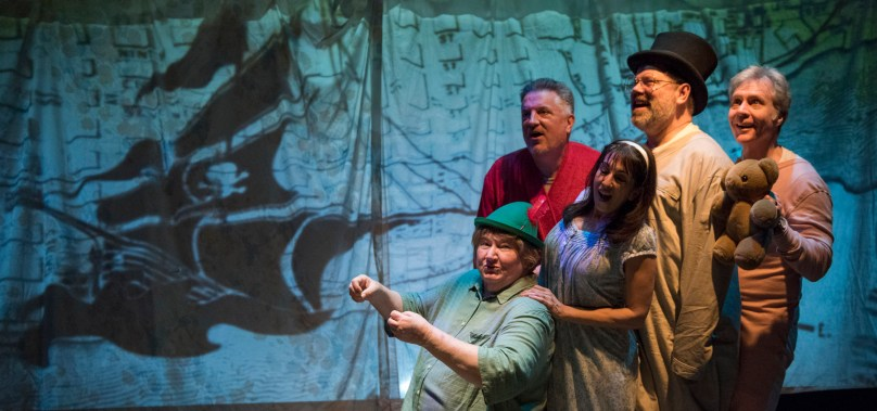 At Shattered Globe FOR PETER PAN Is a Family Affair