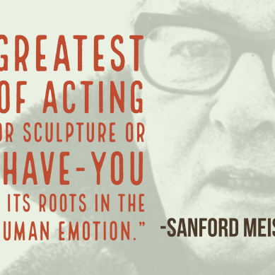 The Power of Relationship: Sanford Meisner and Psychotherapy