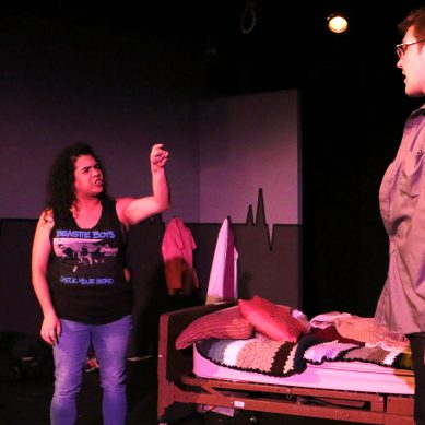 "Review: ""anything and always"" at Coffee & Whiskey Productions"